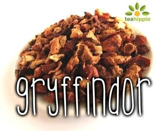 50g Gryffindor - Loose Herbal Tea (Harry Potter Inspired)