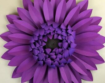 Gerbera Daisy DIY Templates for Hand Cutting, Silhouette or Cricut Explore
