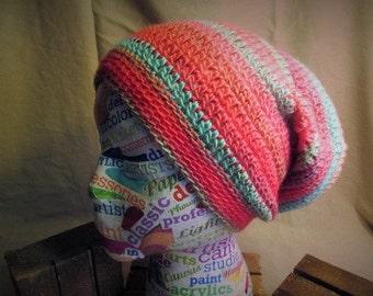 Slouchy Crochet Beanie, Slouchy Beret, Slouchy Hat, Tam Hat, Slouchy Beanie, Winter Hat, Festival Wear