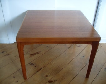 Vintage Mid Century Modern Danish Teak Side Table ,End Table,Occasional Table Denmark