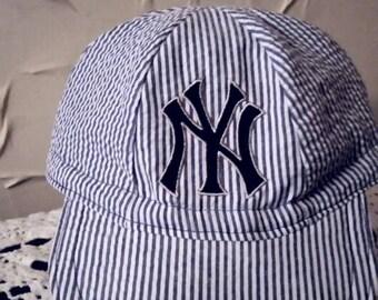 NY Yankees inspired baseball cap baby baseball cap