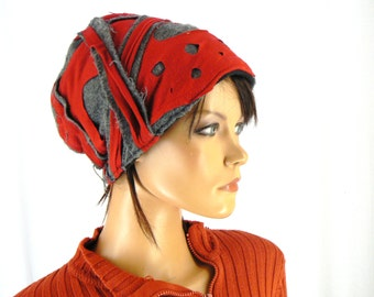 Recycled fabric lined Black Fleece Hat