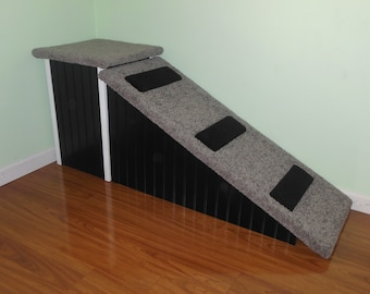 dog bed ramp 30 high 2 piece pet ramps dog ramp for