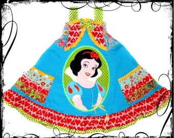 Custom Boutique Snow White Princess dress