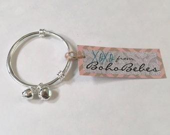 Adjustable Charm Bell Bracelet