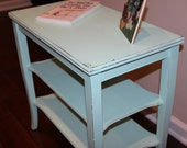 Vintage Minty Green Accent Table (reserved for Nicole)