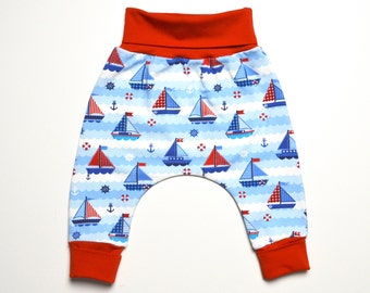 Baby pants newborn trousers for boys ship boat