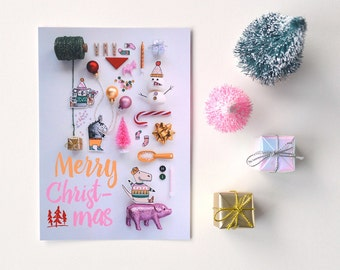 Holiday greeting card 'collection'