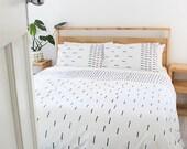 Hatch Duvet Cover - Single, Three Quarter, Queen & King 100% Cotton Bed Linen