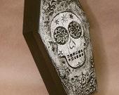 Sugar Skull Coffin Box