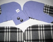 Sweater mittens KIT you make! Women teens up-cycle felted wool mittens SMITTENS M-6