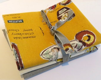 Delicious Foods  by Suzuko Koseki in Cotton/Linen for  Yuwa of Japan- Bundle