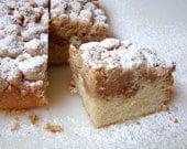 NewYork Style Cinnamon Brown Sugar Crumb Cake