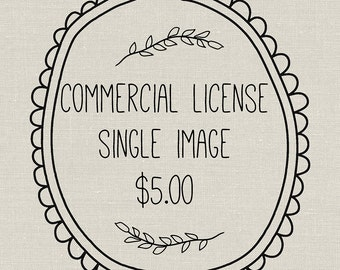Commercial License For Single Image