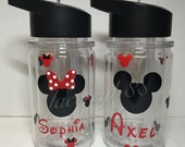 Minnie/Mickey Mouse Kid/toddler Water Bottle, Minnie Mouse Tumbler, Minnie Mouse Mickey Mouse Bottle