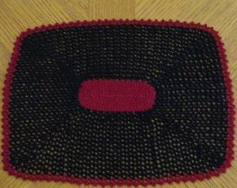 Handmade Doily / Lacy Crocheted Table Runner / Vintage Inspired Decor / Romantic Doily / Crochet Holiday Doily / Wedding Table Decor