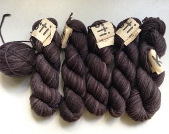 35% Of Koigu Kersti Wool Crepe DK Merino Hand Dyed Yarn Greys 114 Yards