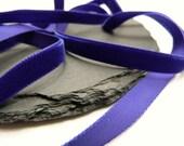 Purple Velvet Ribbon 9mm Berisfords