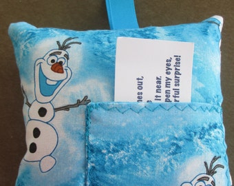 Girl's Tooth Fairy Pillow- Favorite characters