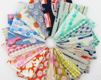 Trinket Fat Quarter bundle - Trinket collection - 18 Fat Quarters - 4.5 Yards Total