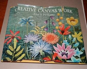 Creatve Canvas Work by Elsa S. Williams