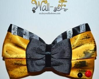 Wall-E Hair Bow