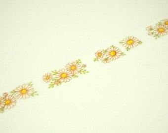 mt konohana masking tape / Margaret flowers / 1 roll