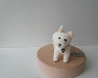 Needle Felted West Highland Terrier