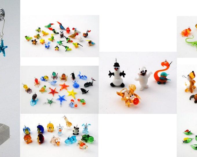 Miniature Animal Earrings (1 pair of earrings for price shown)
