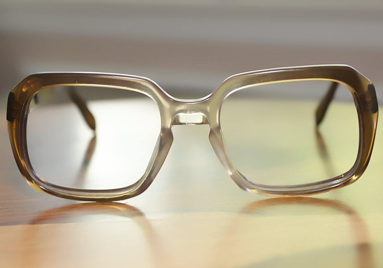 rodenstock vintage horn 54 22 brown fades eyeglasses