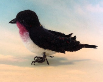 Felted Swallow FOR Thumbelina Princess Doll