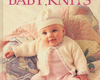 Vintage Baby Infant Toddler Knitting Book- Easy, Beginner and Advanced patterns