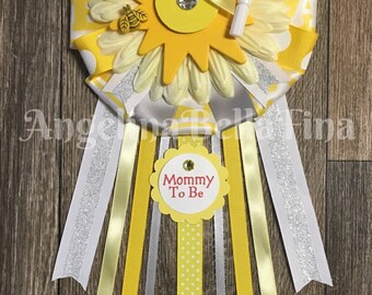 NEW Lil' Sunshine Themed Mommy To Be Corsage