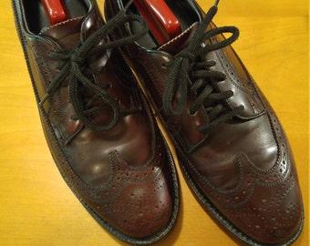 Beautiful cordovan wingtip/ brogue shoes