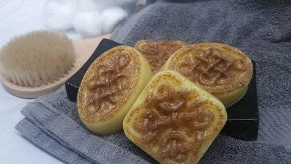 Organic Glycerin Guest Gift Soaps-Lemon Cheesecake 8 ozs