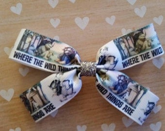 Where the Wild Things Are hair bow