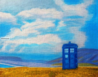 TARDIS Seaside Stop-Prints