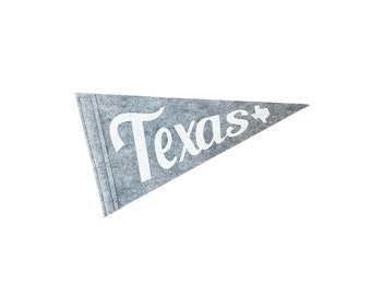 Texas Screen-printed Felt Flag - Home & Dorm Decor, Texas Pride