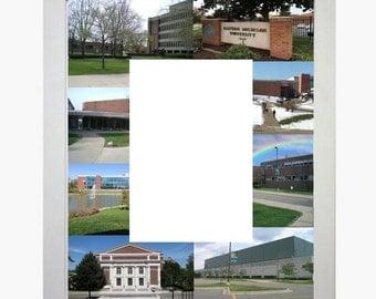 Eastern Michigan University Picture Frame Photo Mat Personalized Unique Gift School Graduation