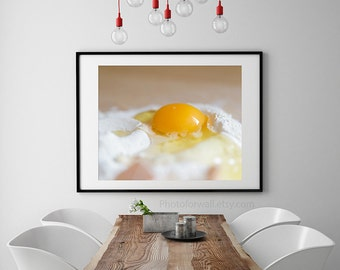 Eggs kitchen photography, food photography, kitchen wall decor, kitchen decor, french cottage chic decor, Poster home decor, mother gift