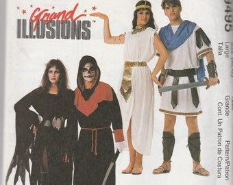 McCall's 9495 (40,42) Grand Illusions Costumes 1998 UnCut