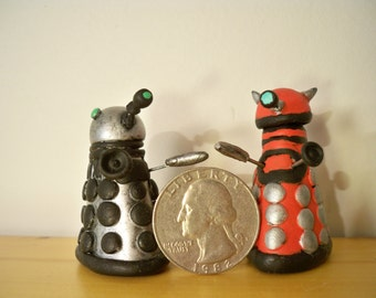 Custom Hand-Made Daleks