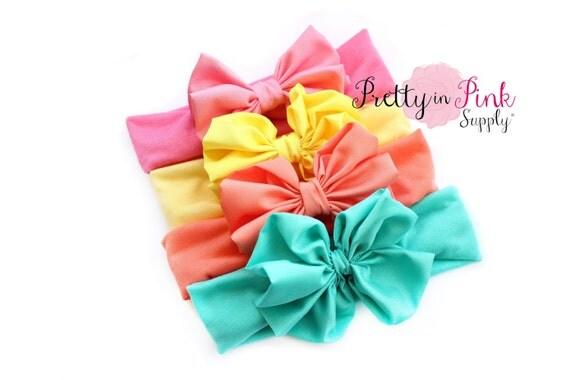 Messy Bow Diy Head Wrap Kit 206 Baby Shower Headband