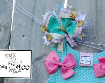 Playful Child 6 inch Hairbow