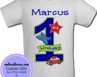 All Aboard! Birthday Shirt or Onesie