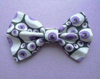 Eyeball Hair Bow- Goth- Creepy Cute- Gothic