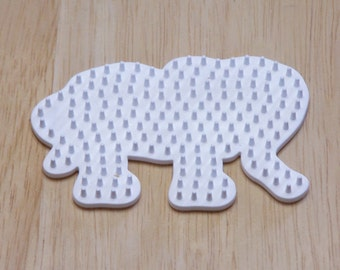Baby Elephant Pegboard, Ironing Paper, Instructions, Bead Art Supply, Craft Supply, Church Craft Supply, Kids Crafts