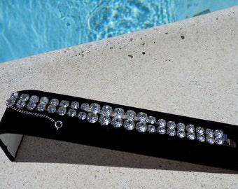 SALE!!!Eisenburg Double Strand Rhinestone Bracelet