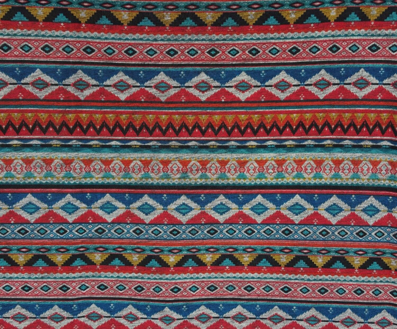 Novelty Tribal Print 1 Fabric Polyester Spandex Jersey Knit