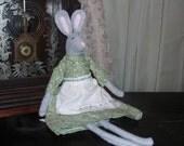 Bunny Rag Doll, Fleece Prairie Bunny